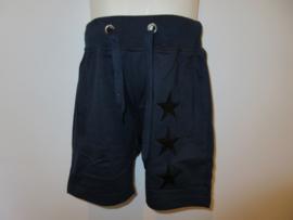 Jogger blauw met 3 sterren