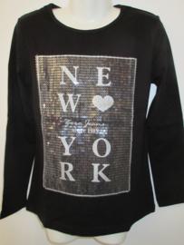 Longsleeve zwart NY van Zero