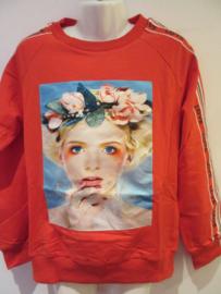 Sweater rood girl