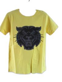 Shirt geel tijger