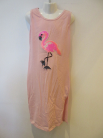 Maxi dress flamingo roze