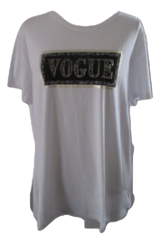 Shirt wit vogue