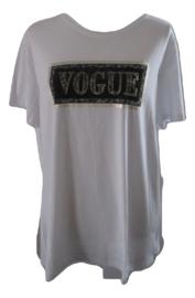 Shirt wit vogue
