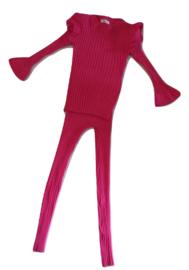 Roze set Legging + truitje van Yoyo S.