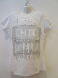Shirt wit CHIC