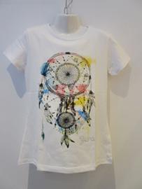 Shirt wit dromenvanger van Zero