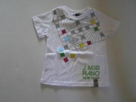 Shirt van J. Mirano wit ZM 1136