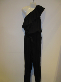 Jumpsuit zwart off shoulder