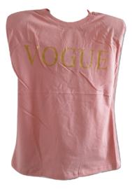 Shirt roze vogue