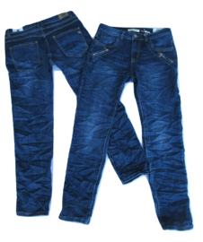 Karostar Jeans Bleu met ritsje bij zak K2028