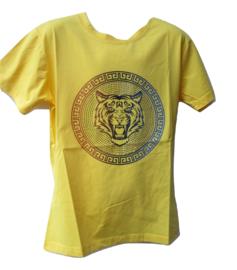 Shirt geel tijger Kids Star