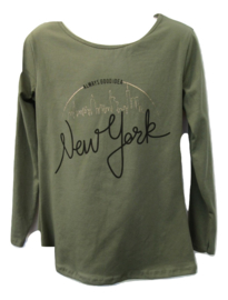 Longsleeve groen New York
