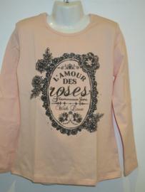Longsleeve roze L'amour van Zero