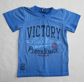 Shirt Victory blauw van Kids Star