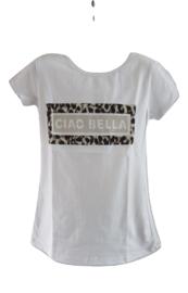 Shirt wit ciao bella