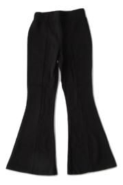 Flair broek zwart met splitten