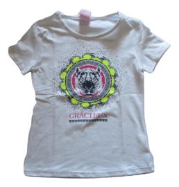 Shirt wit gracieux van Zero