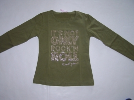 Longsleeve groen Rock 'n Roll van Zero