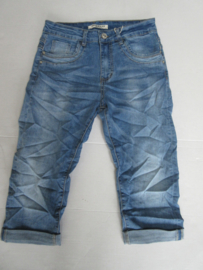 Jeans capri Jewelly met rits