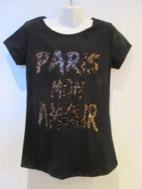 Shirt zwart paris