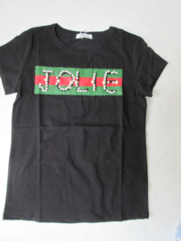 Shirt zwart Jolie