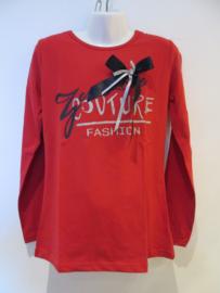 Longsleeve rood Couture van Zero