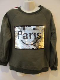Sweater groen paris