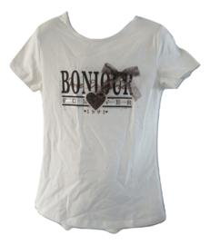 Shirt wit bonjour panter van Zero