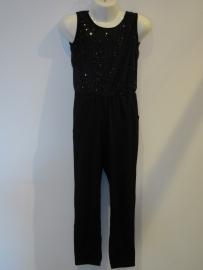 Jumpsuit zwart met glitter van Zero