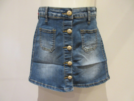 Jeans rok met knoopjes 621