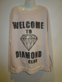 Sweater roze welcome