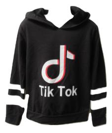 Tik Tok sweater zwart