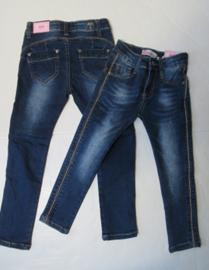 Jeans met bronzen glitter bies Kids & Cool