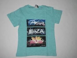 Shirt mint groen Ibiza van J. Mirano