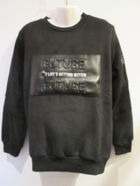 Sweater zwart Future