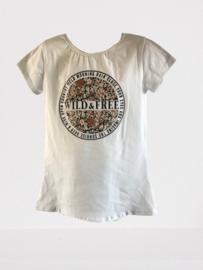 Shirt wit wild free print bruin
