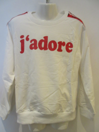 Sweater off whiteJ'adore