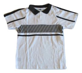 Polo wit/zwart