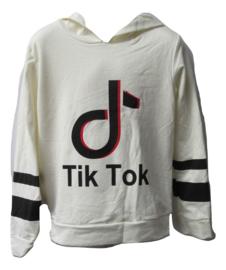 Tik Tok sweater off white