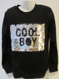 Sweater zwart Cool Boy