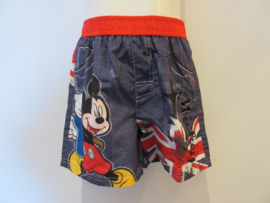 Zwemshort Mickey band rood