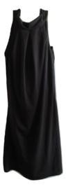 Halter jurk zwart