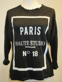 Top Paris zwart