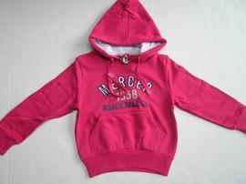 Sweater met capuchon roze van J. Mirano