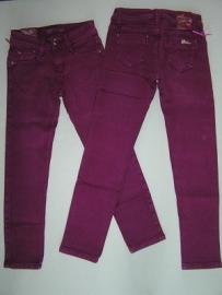 Skinny Jeans fuchsia van Mini Mignon