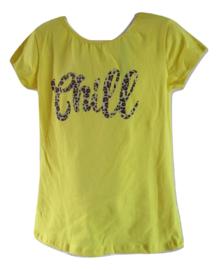 Shirt geel shill