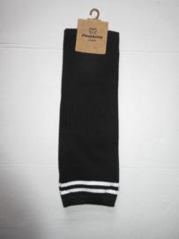 Knie kousen zwart