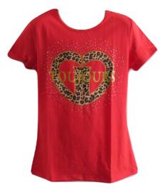 Shirt rood van Zero toujours
