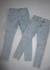 Jeans met glitter bies Kids Star