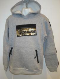 Sweater grijs succes
